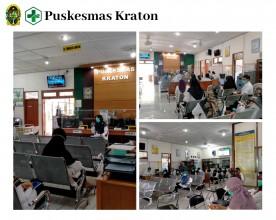 Lokakarya MIni Bulanan UPT Puskesmas Kraton Bulan Juli Tahun 2020