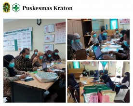 Monitoring dan Evaluasi Pasca Akreditasi UPT Puskesmas Kraton