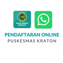 Manfaatkan Layanan Pendaftaran Online Puskesmas Kraton