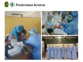 Bulan Imunisasi Anak Sekolah UPT Puskesmas Kraton