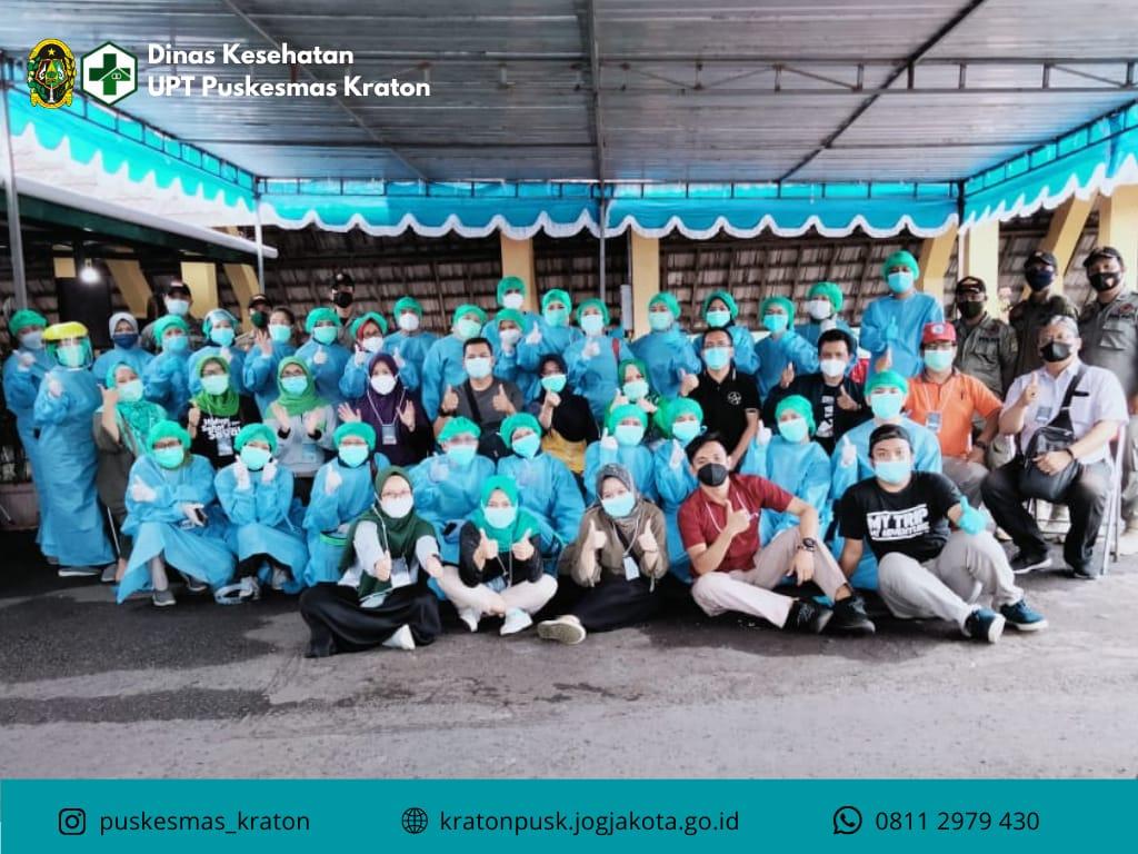 Vaksinasi Massal di Kota Yogyakarta